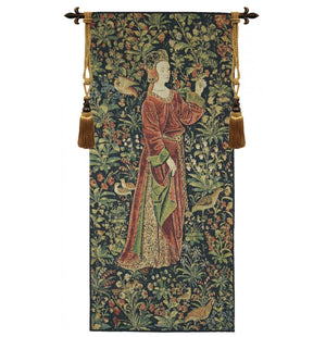 Promenade I Left Panel European Wall Hanging Tapestry