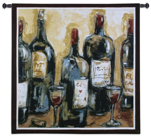Wine Bar Woven Bar Tapestry Wall Hanging
