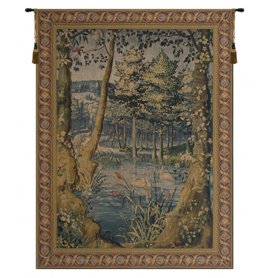 Forest European Hanging Wall Tapestry