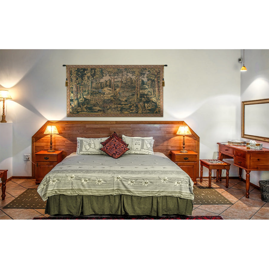 The Royal Forest European Wall Hanging Tapestry