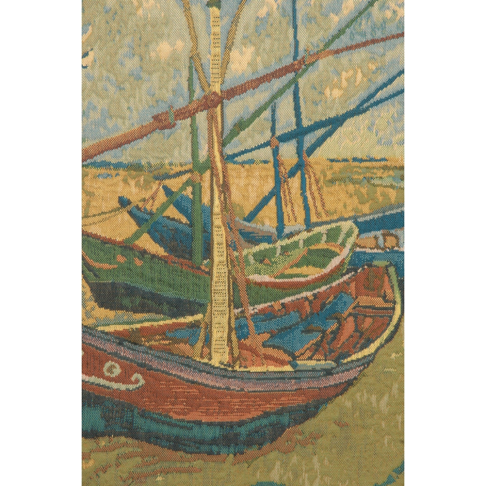 Van Gogh Fishing Boats to Hang on Wall
