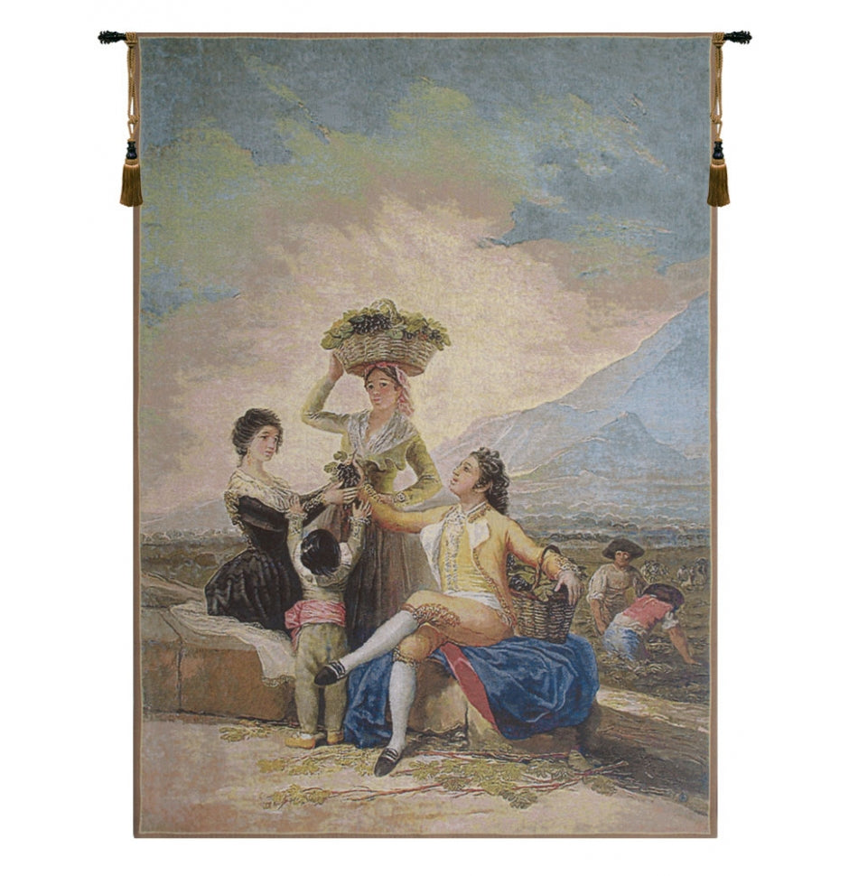 Vendimia European Hanging Wall Tapestry