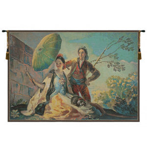 Quitasol Medium European Hanging Wall Tapestry