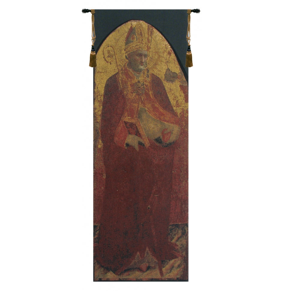 Saint Nicolas European Hanging Wall Tapestry