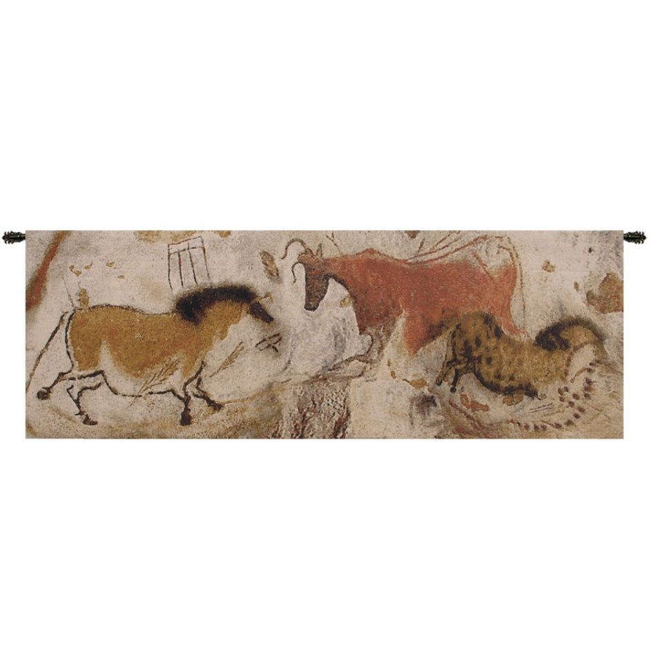 Lascaux Part European Hanging Wall Tapestry