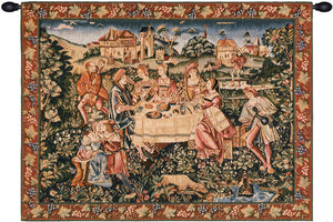 The Feast French Decor Wall Tapestry