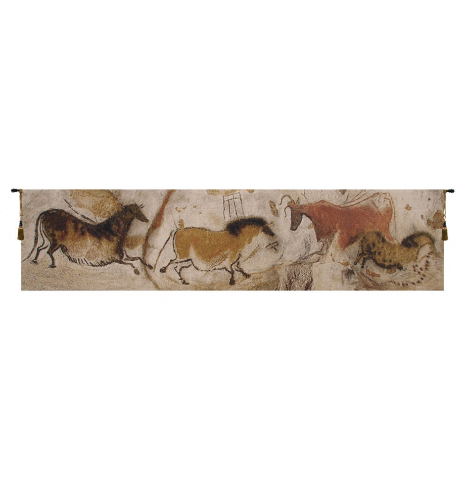 Lascaux Small European Hanging Wall Tapestry