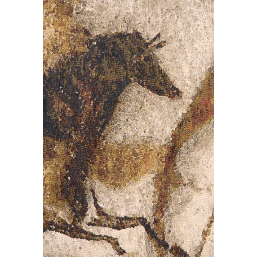 Large Animals Jacquard Woven Cave Artwork