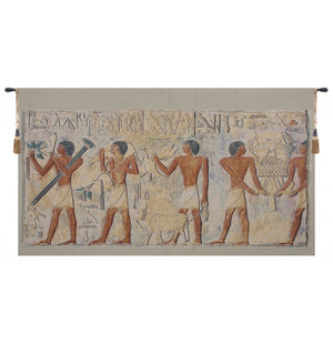 Saqqarah Beige Part I European Hanging Wall Tapestry
