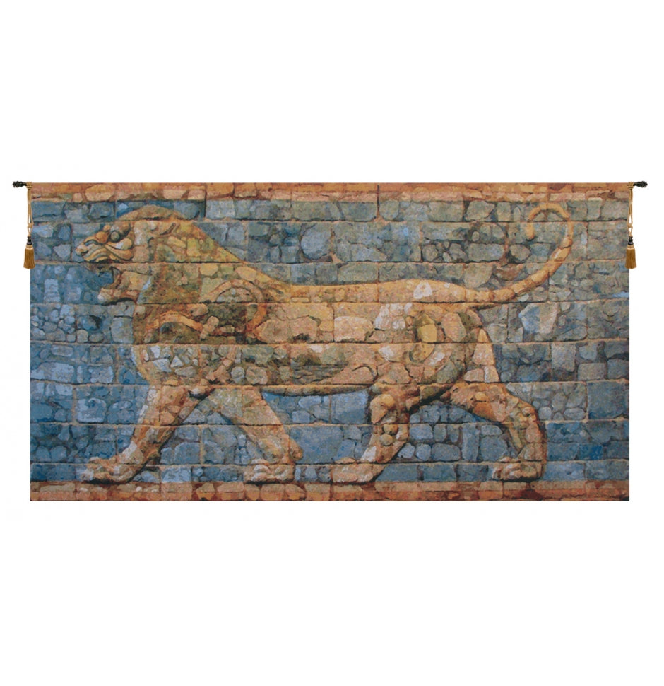 Lion I Darius European Hanging Wall Tapestry