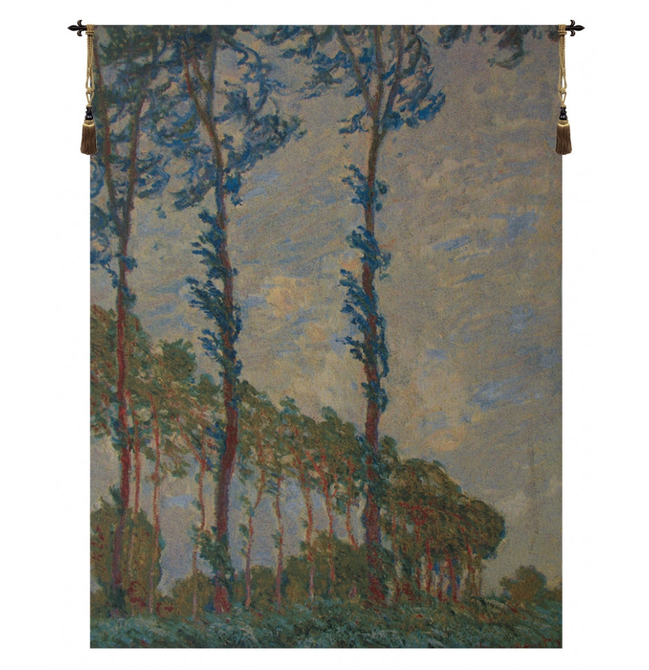 Claude Monet Trees European Hanging Wall Tapestry