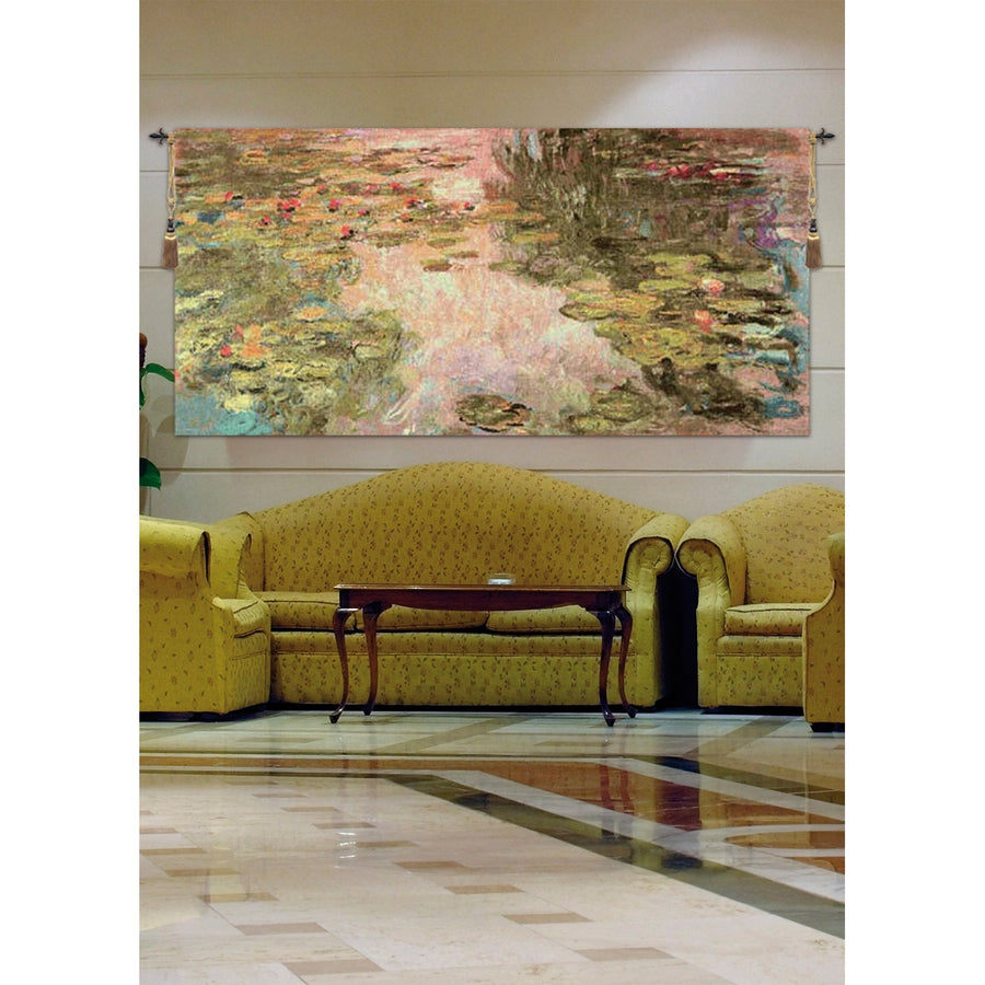 Monet's Style Without Border European Hanging Wall Tapestry