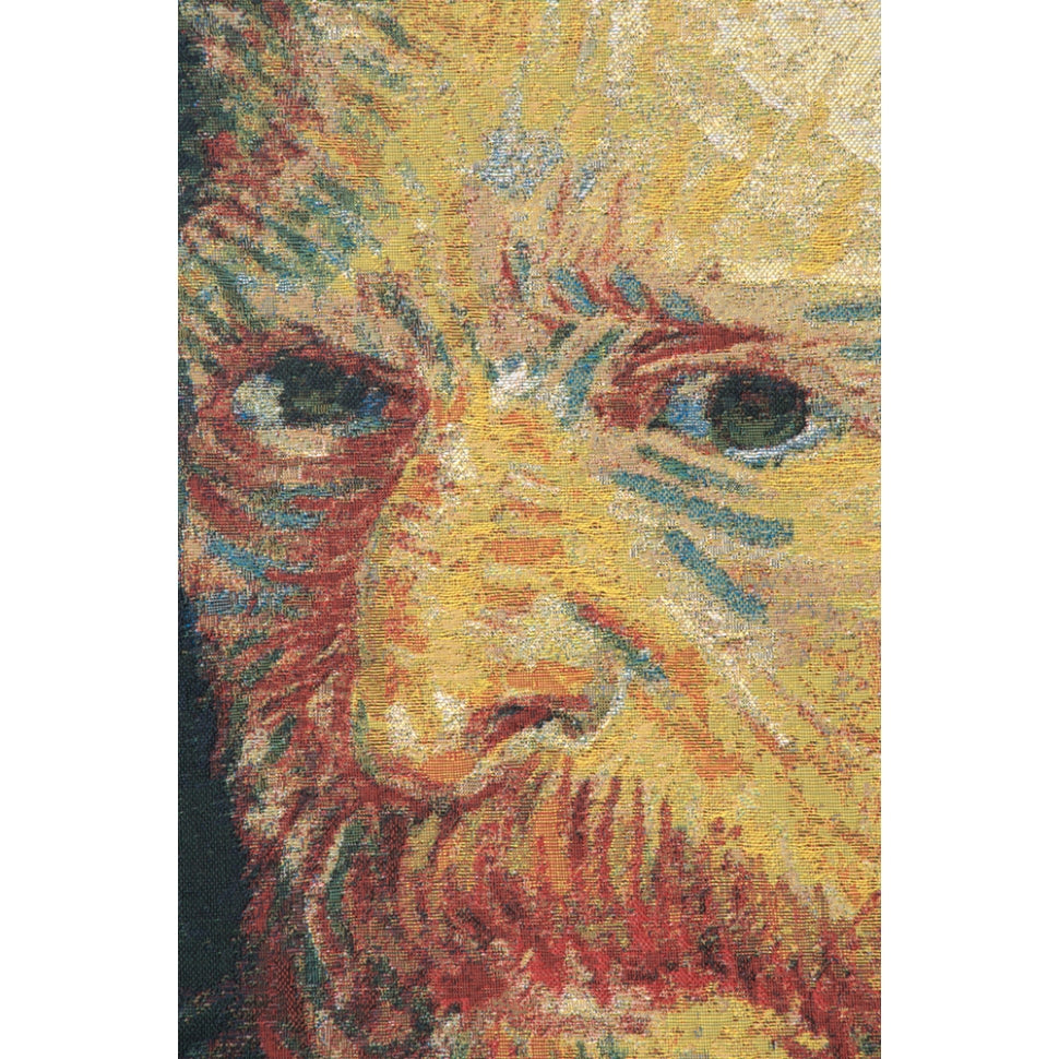 Black Cotton Portrait Van Gogh Painter Art