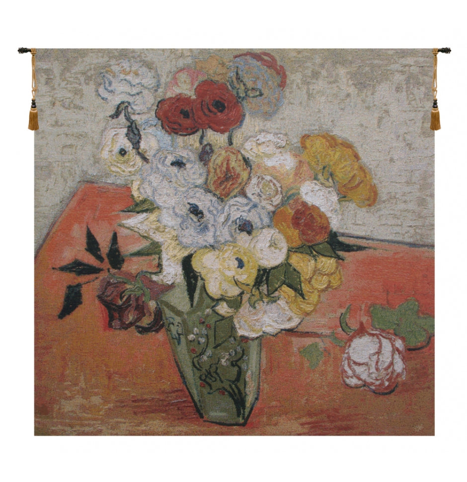 Van Gogh Fleur Woven Tapestry Wall Hanging