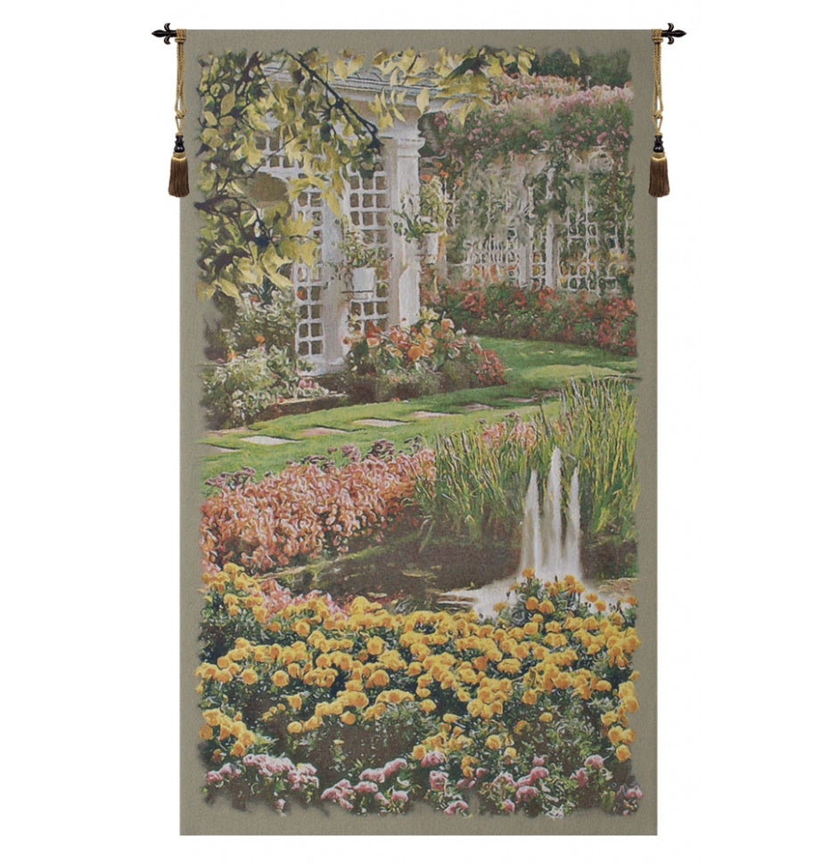 Jardin Vertical I European Hanging Wall Tapestry