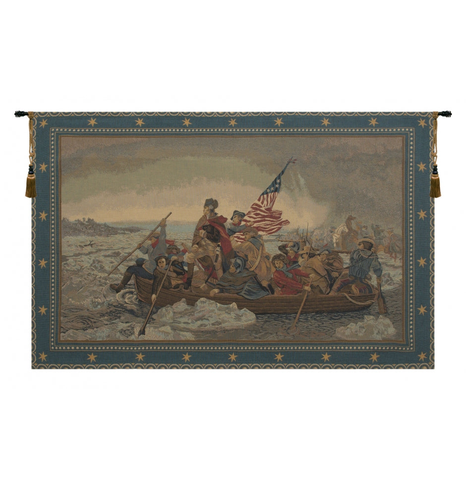 Battle of Delaware Decor Wall Tapestry