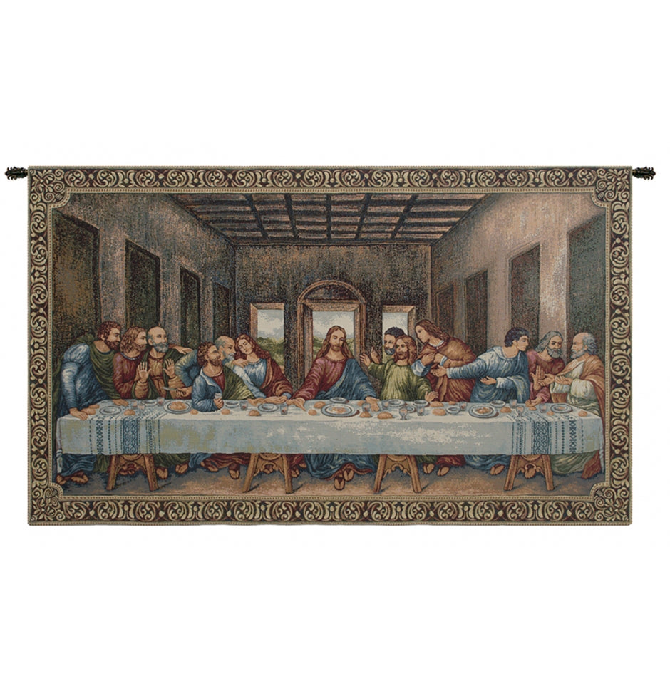 The Last Supper III Decor Wall Tapestry