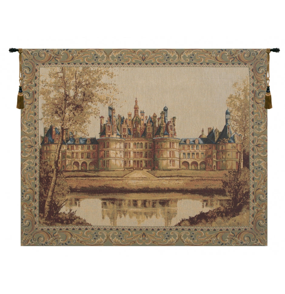 Chambord Castle I European Wall Hanging Tapestry