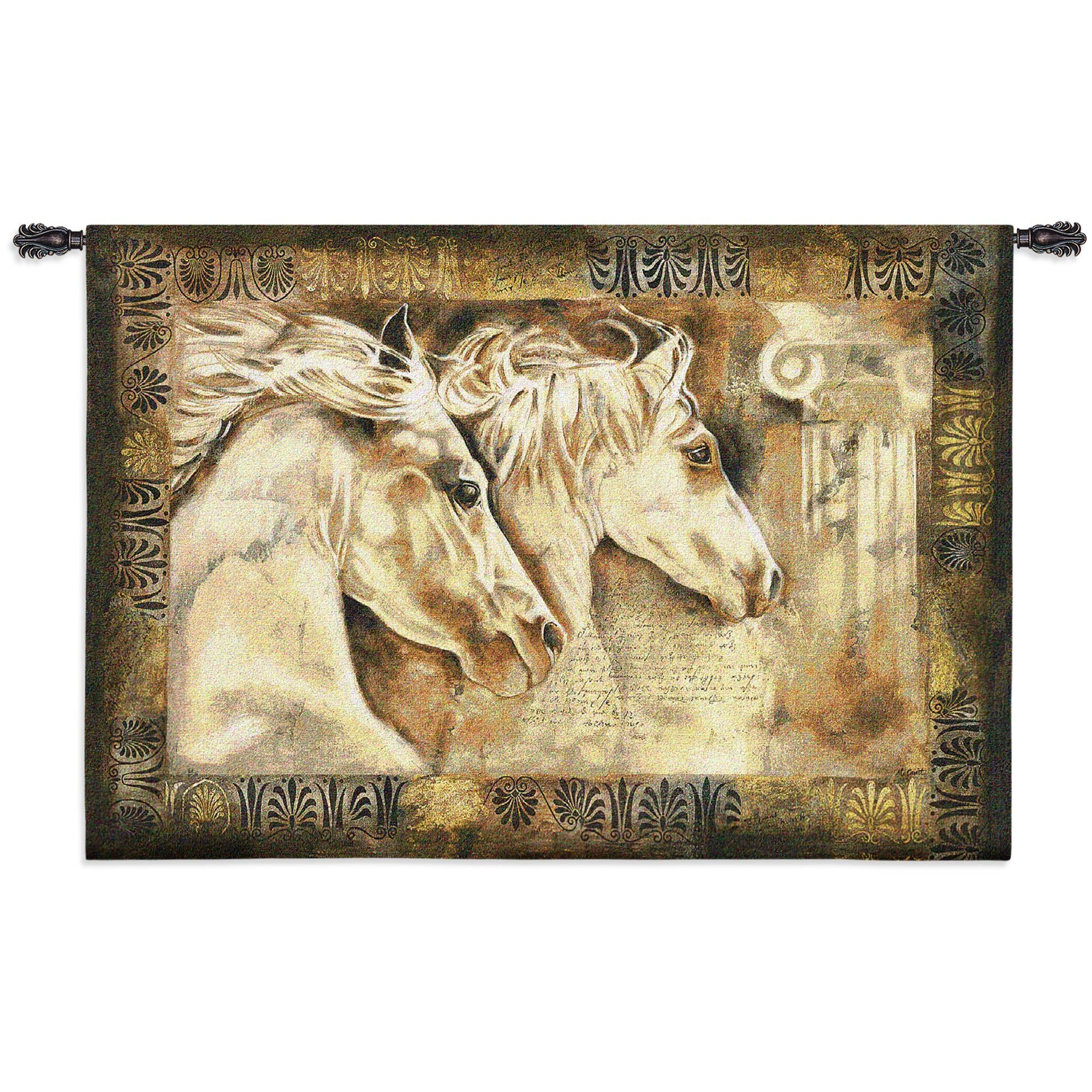Animals and Wildlife Wall Woven Tapestries - Nature Scenery Hangings ...