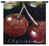 Ettiene Ripe Cherries Wall Tapestry