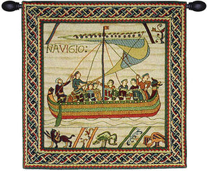 Duke William Ship 1A Decor Hanging Tapestry