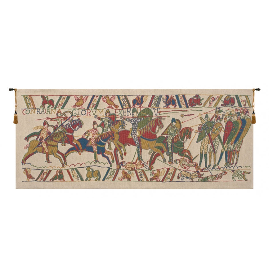 Bayeux The Battle European Wall Hanging Tapestry