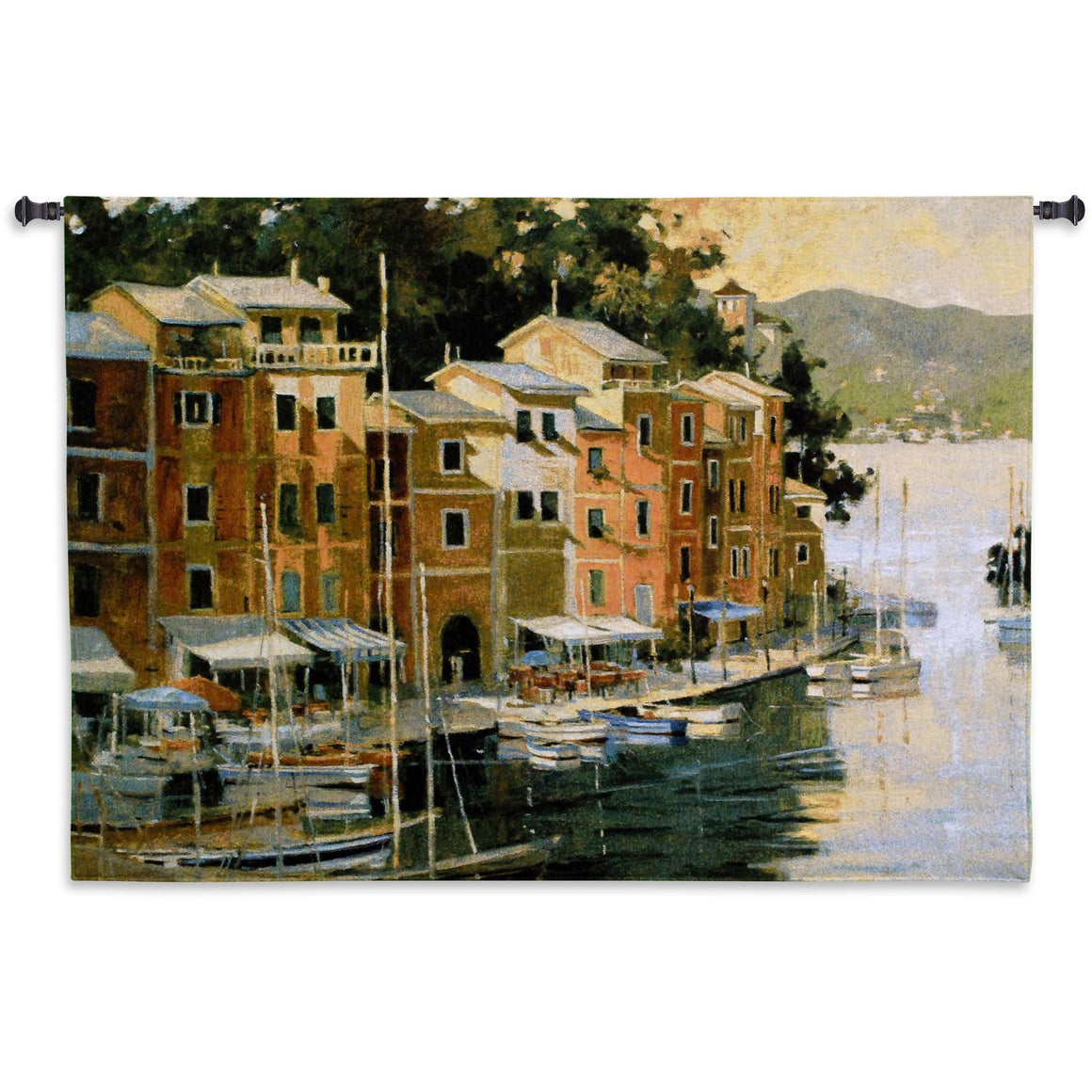 portofino italy wall hanging tapestries