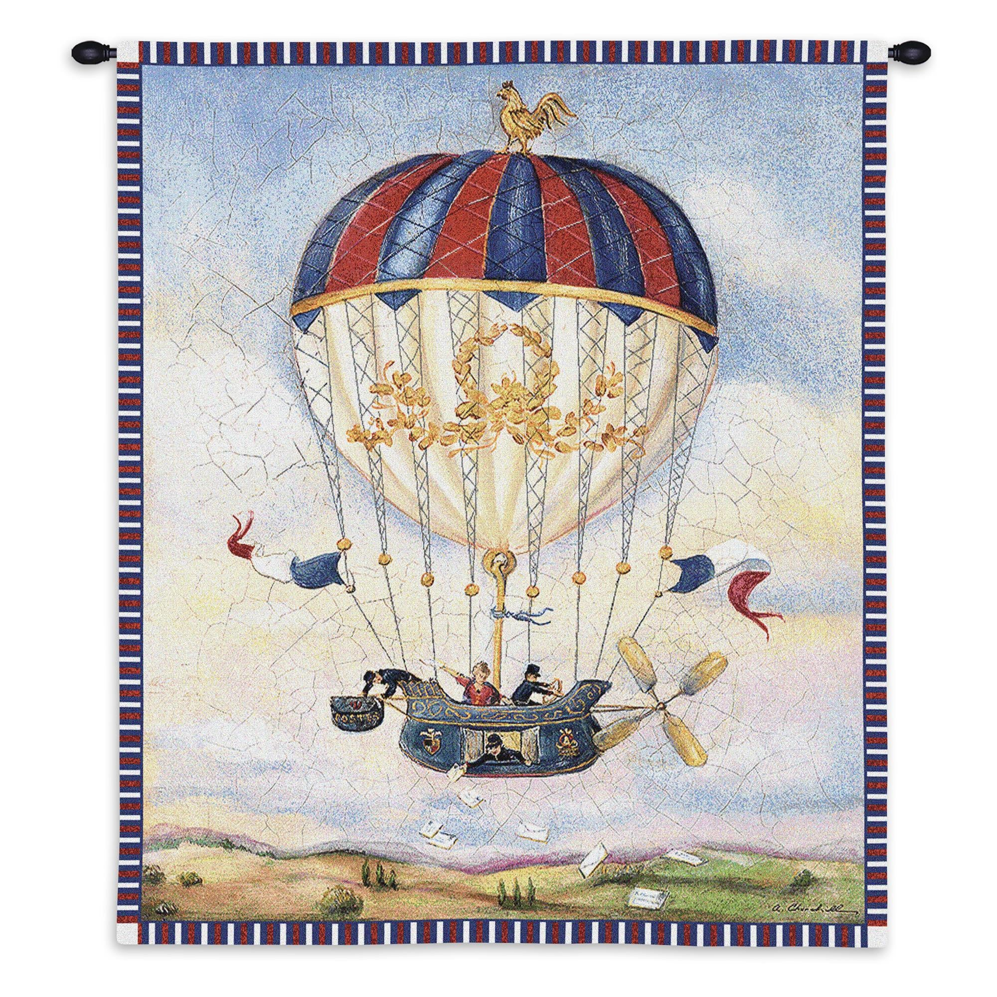 Mail Drop Balloon Festival Wall Hanging