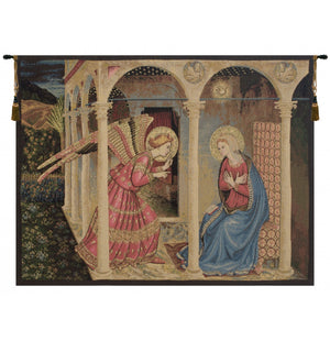 Annuniciation Italian Wall Hanging Tapestry