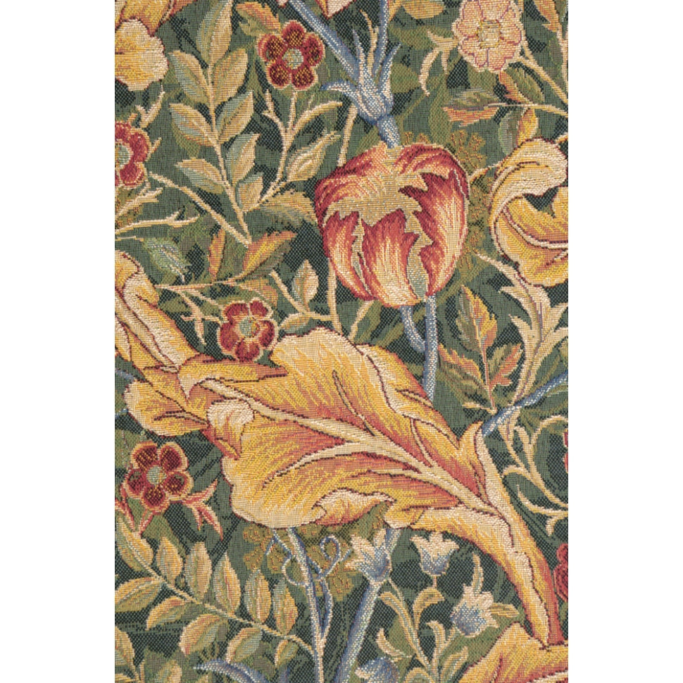 Acanthe Green French Wall Tapestry