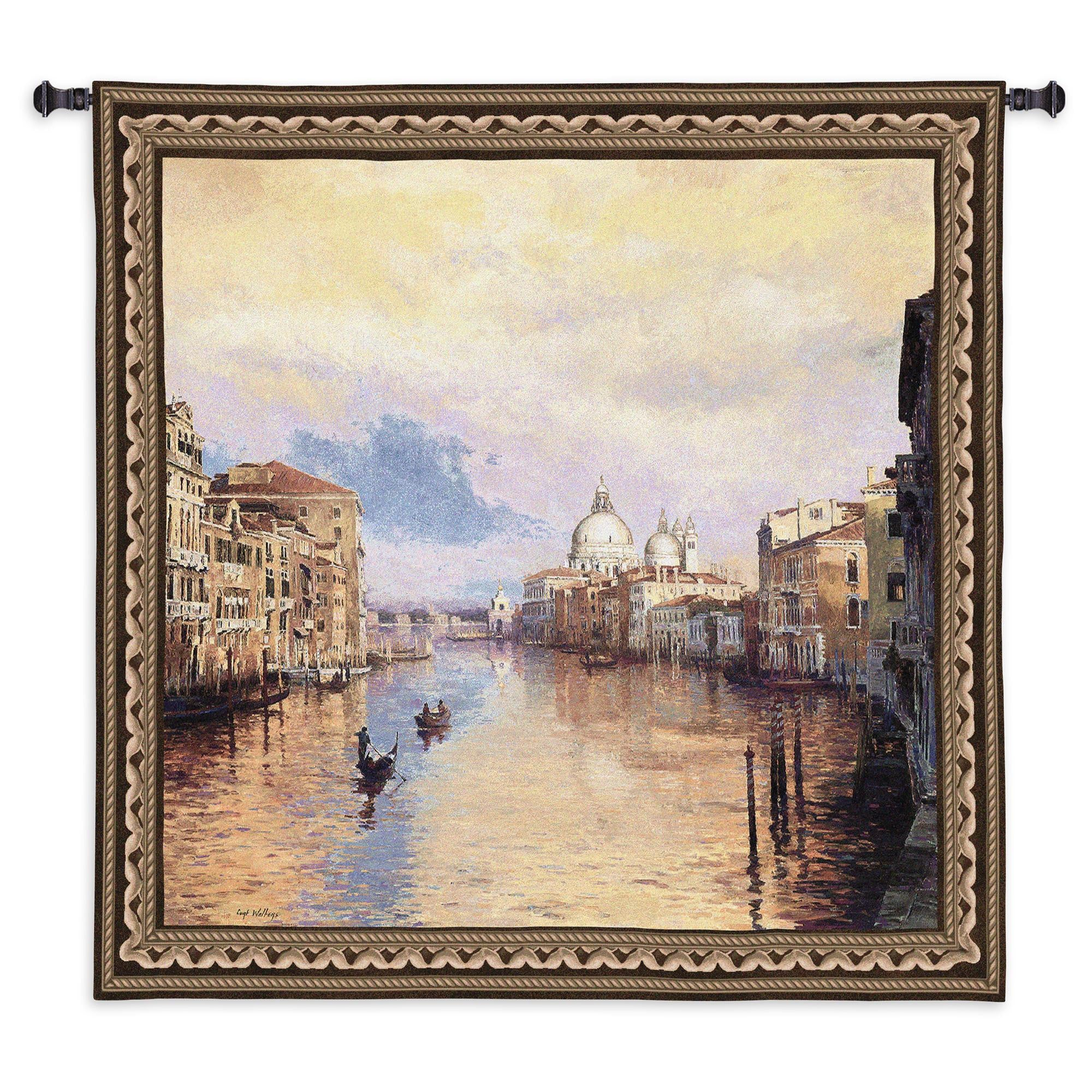 Grand Canal Venice Woven Tapestry