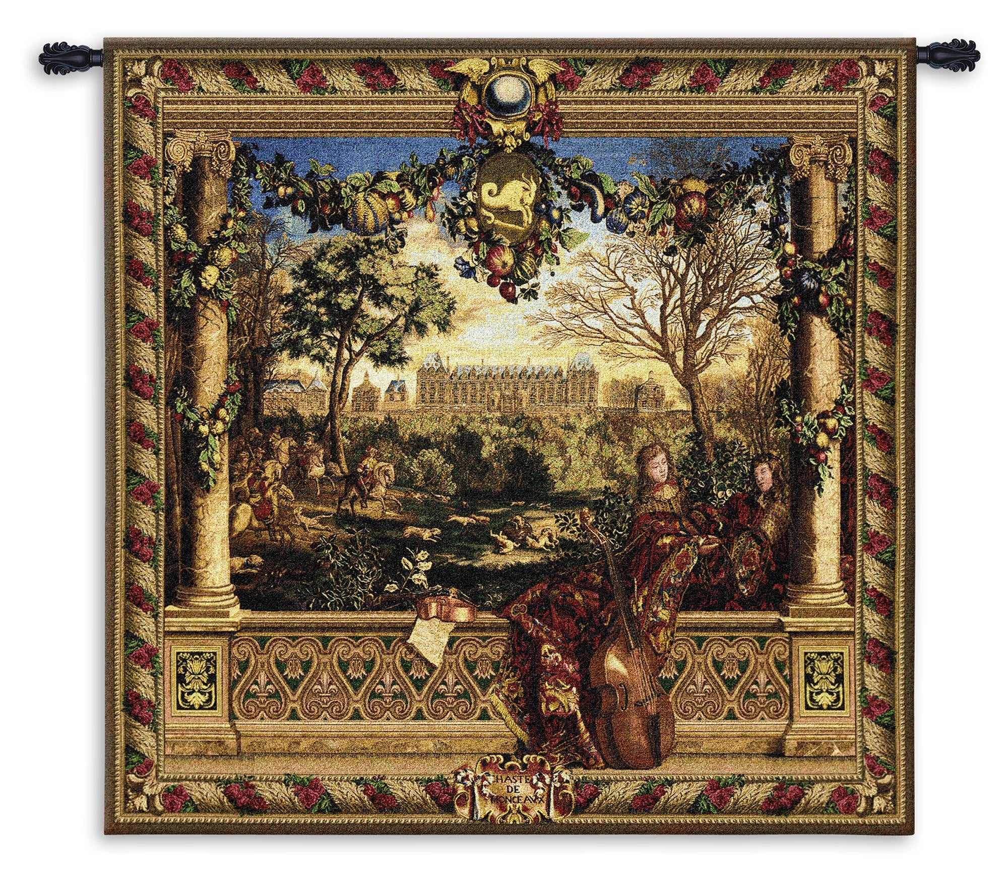 Le Chateau De Monceau Woven Wall Decor
