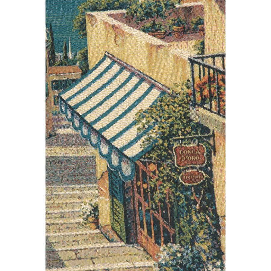 Bellagio Village European Hanging Wall Tapestry