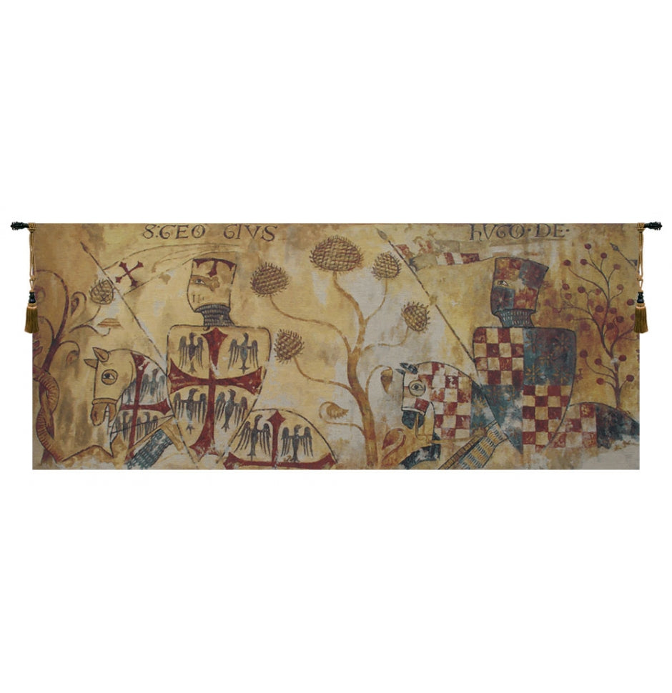 Le Chevaliers - The Knights Wall Hanging