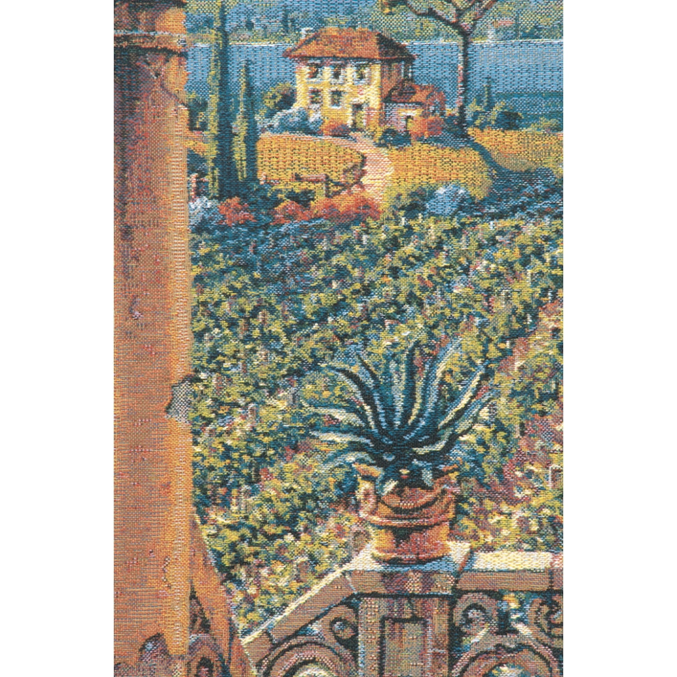 Pejman Italian Vineyard Hills Woven Hanging on Wall