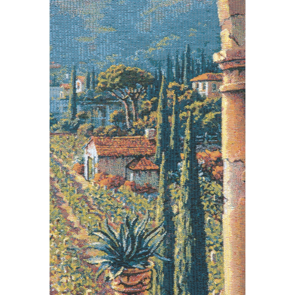 Tuscany Vines Wine Cotton Wall Hanging