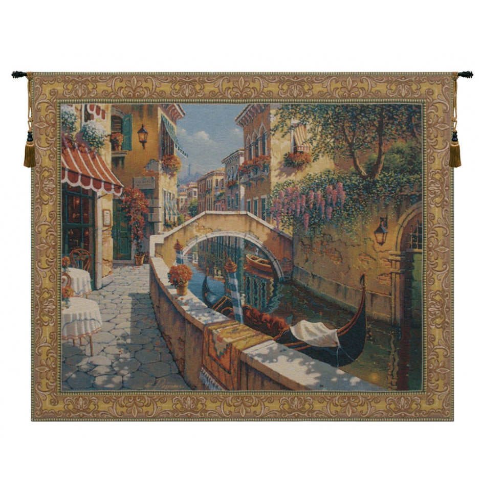 Passage to San Marco European Hanging Wall Tapestry