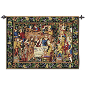 Les Vendanges Woven Wall Hangings