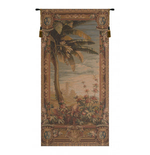 Green La recolte des ananas basket door French Decor Wall Tapestry