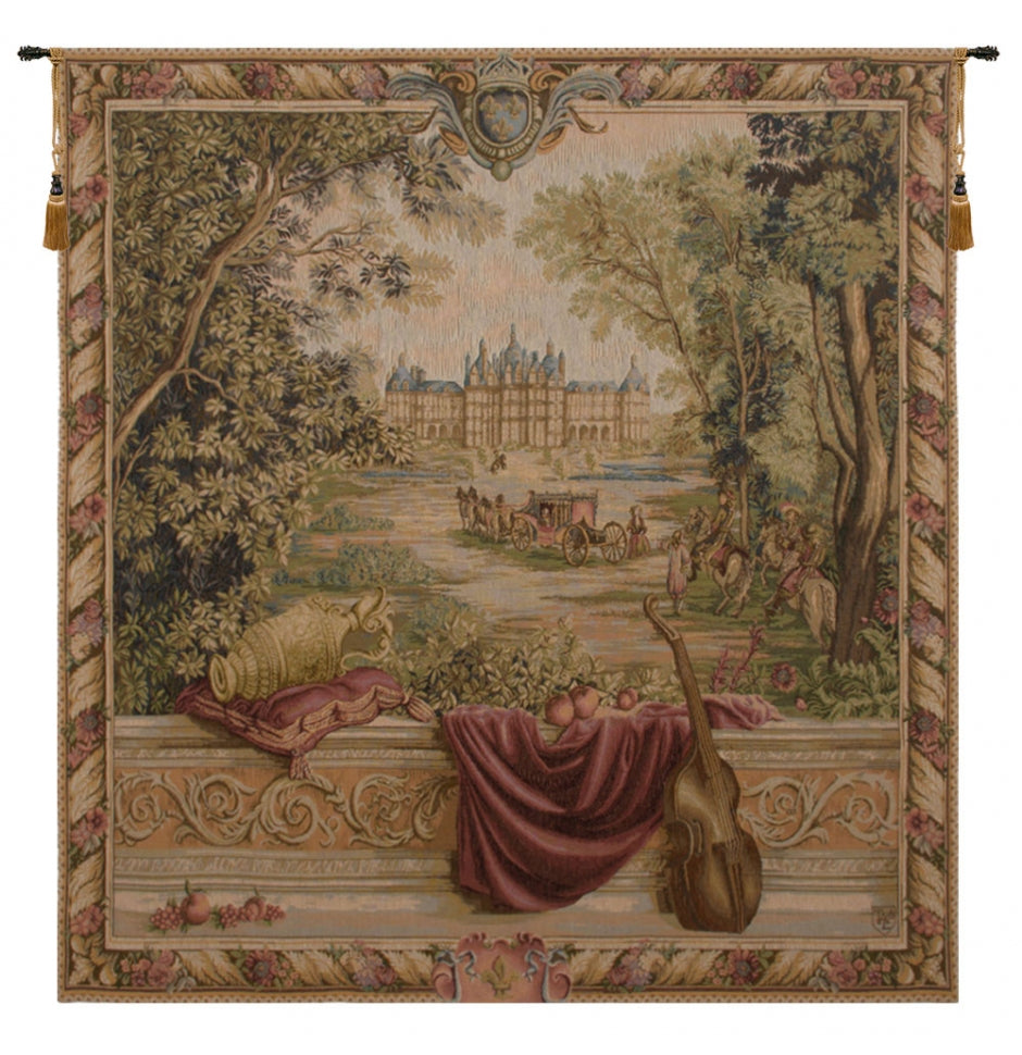 Verdure au Chateau I French Wall Tapestry