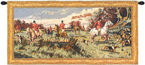 La Chasse a Courre Wall Hanging Tapestry