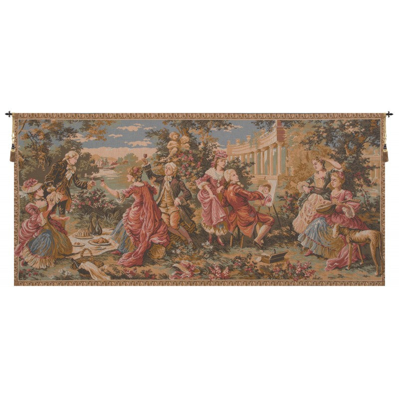 The Garden Party French Decor Wall Tapestry