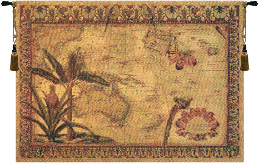 East Indies Belgian Wall Hanging Tapestry