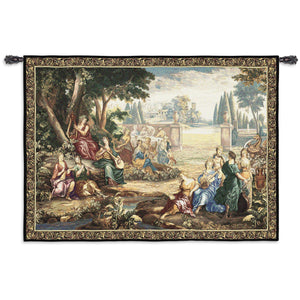 Romantic Harmony Woven Wall Tapestry