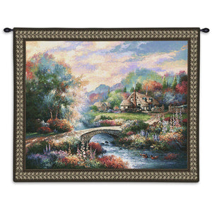 country americana woven wall poster
