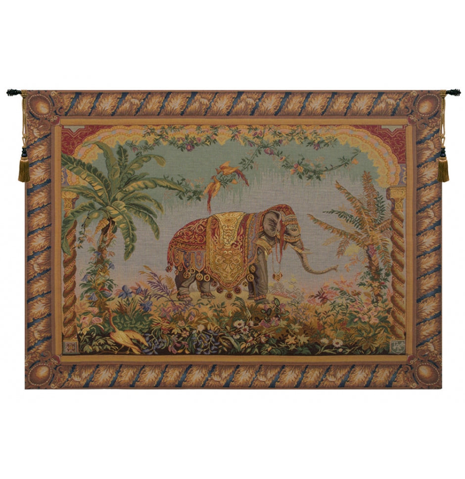 Le Elephant French Wall Tapestry