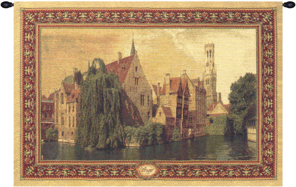 Scene of Belgium Belgian Wall Hanging Tapestry