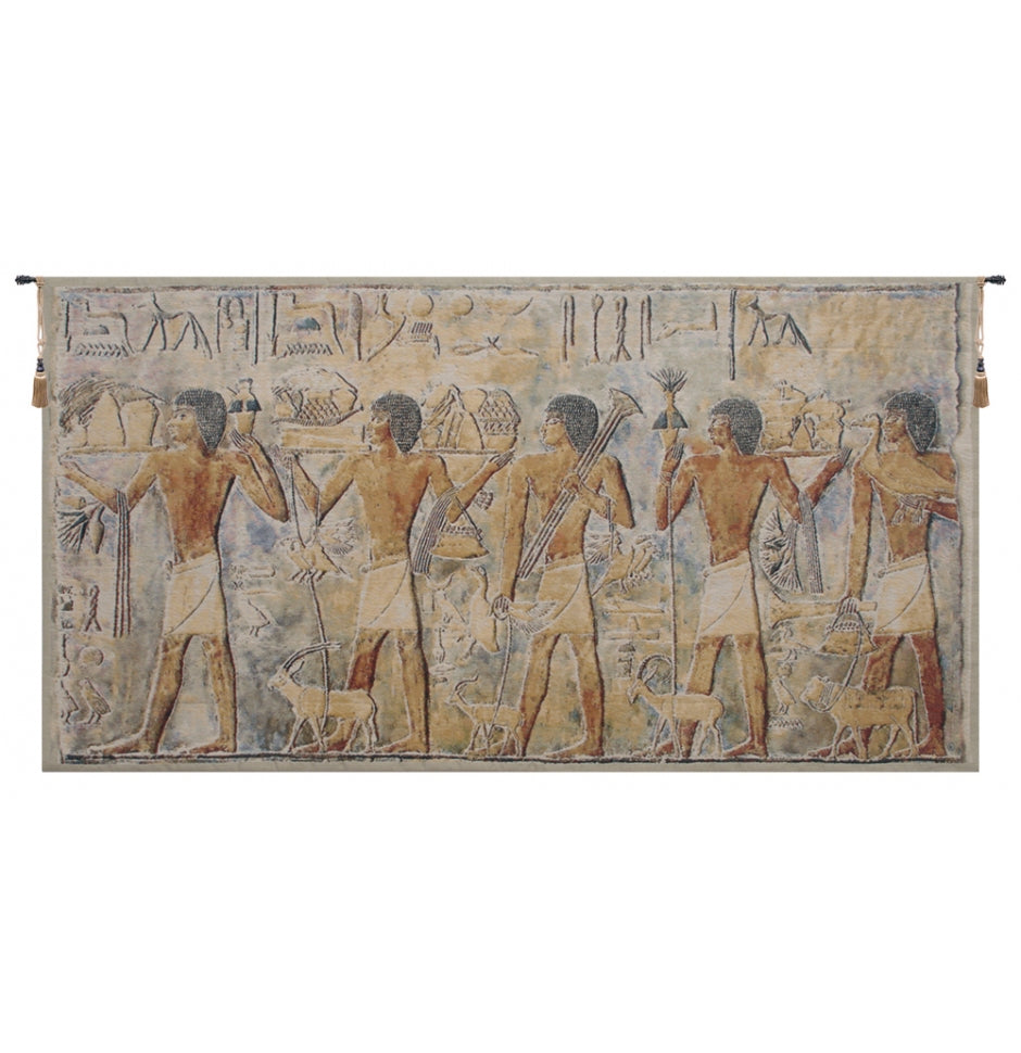 Saqqarah Beige Part 2 European Hanging Wall Tapestry