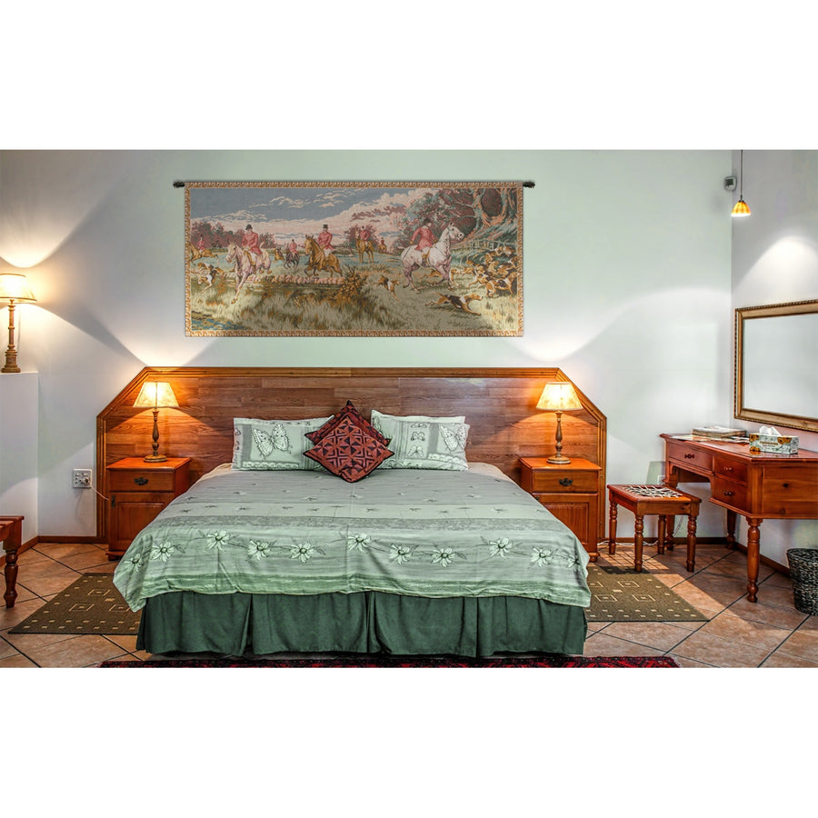 English Hunt Wall Hanging Tapestry
