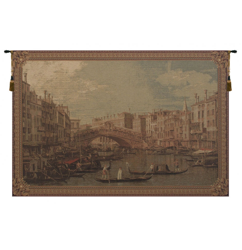 Rialto Bridge European Wall Hanging Tapestry